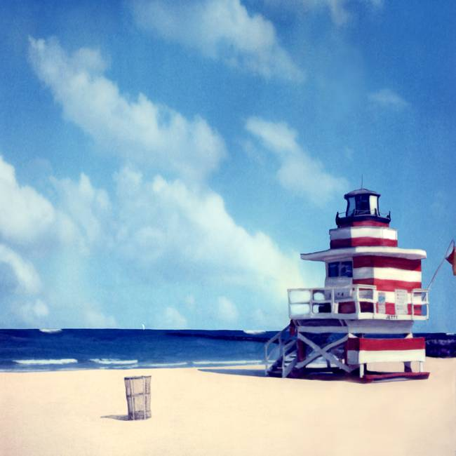 Lifeguard Lighthouse Miami Beach Florida