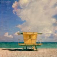 Miami Beach FL, Lifeguard Stand #3 by Joe Gemignani