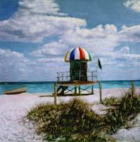 Miami Beach, Lifeguard Stand #11 by Joe Gemignani