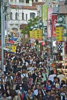 Takashita Street Packed..!