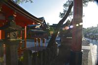 Sunsets on Inari Shrine...