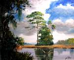 Florida Country Painting by Mazz Original Paintings