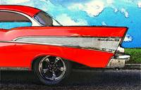 1957 Chevrolet Bel Air Rear Driver's Side