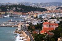 City of Nice in the French Riviera