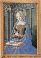 Hours of Henry VII: Virgin Receiving Annunciation