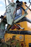 Wrecked School Bus 5