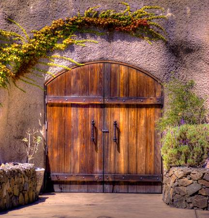 Wine Cave Doors