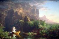 The Voyage of Life - Childhood by Thomas Cole