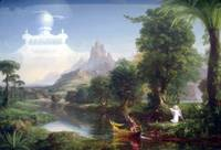 The Voyage of Life - Youth by Thomas Cole