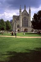 Winchester Cathedral 10 by Priscilla Turner