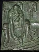 Marshall Fredericks, Bronze Wall Plaque, Miner & M