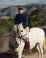 Ronald Reagan on White Horse by WorldWide Archive