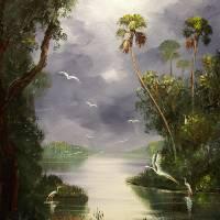 """""""Misty River Birds"""" by mazz"""