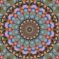 Box of Chalk Kaleidoscope