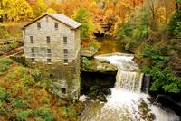 Lantermans Mill in Fall