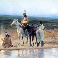 """""""Indians on the Plains (1896) by Henry Farny"""" by ArtLoversOnline"""