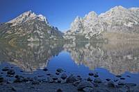 Grand Teton Reflections In Jenny Lake