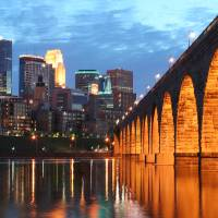 """Minneapolis Stone Arch Bridge"" by WaynePhotoGuy"