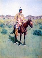 Spotted Tail (1896) by Henry Farny