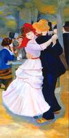 Dance at Bougival after Renoir