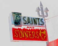 saints & sinners inverted
