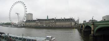 London Eye Thames Panoramic
