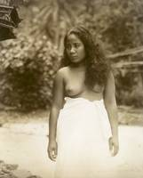 Native Girl in Pagu Pagu c1920 by WorldWide Archive