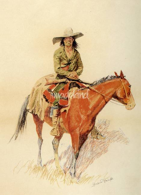 Old Ramon by Frederick Remington