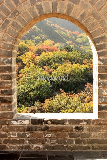 The Great Wall Window