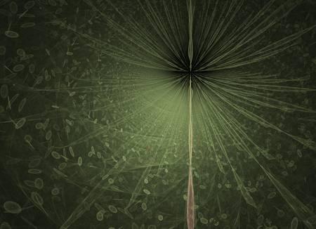 fractal dandelion by Pam Atkins