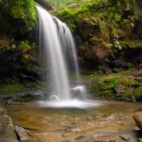 """""""The Grotto - Grotto Falls In Gatlinburg, TN"""" by DAPhoto"""