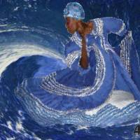 """OCEAN QUEEN"" by AFROFUSION"