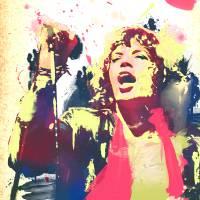 Mick Jaggered Art Prints & Posters by Dan Jowett