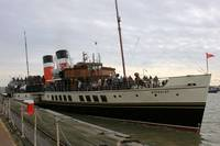 PS Waverley At Tilbury