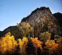 american fork canyon at tibble fork turn off yello