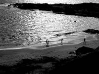 Children on the Beach at Godrevy