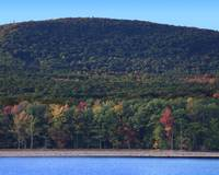 Ashokan Reservoir in the Catskill Mountains