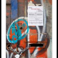 STOP WORK ORDER Art Prints & Posters by Chicco