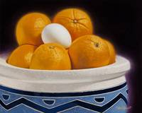Egg with Oranges