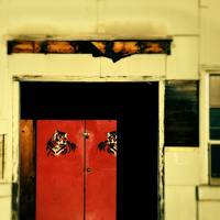 red door (with tigers)