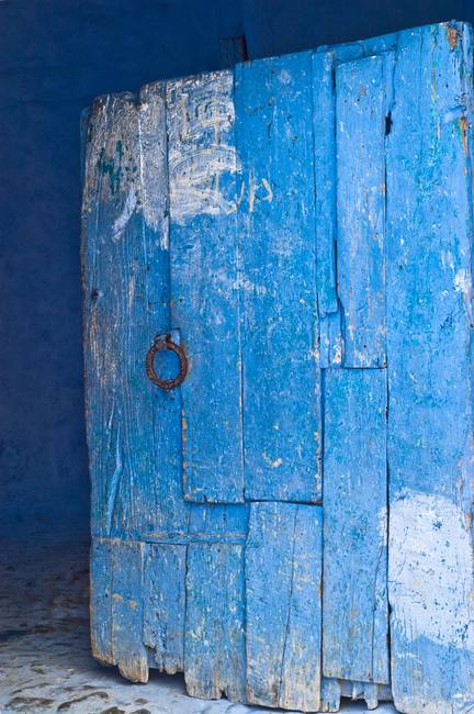 Through the Blue Door