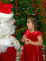Giving Santa an Earful