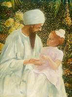 Sikh and Child