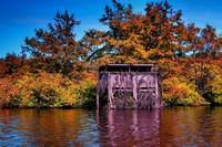 Finch Lake Fall Duck Blind