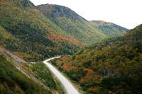 Descent from French Mountain, Cabot Trail 2009
