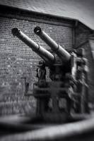 AA Gun, Explosion Museum. Single Glass Optic f/4,