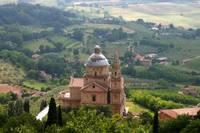 Montepulciano, Italy church