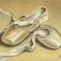 Ballet shoes Art Prints & Posters by tanyabond