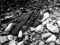 Beach Stones and Rock