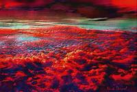 Above the red clouds